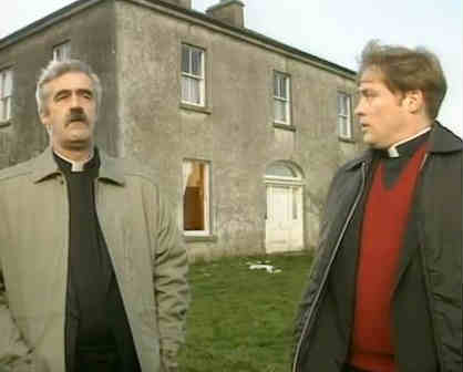father ted entertaining father stone. Black Bedroom Furniture Sets. Home Design Ideas